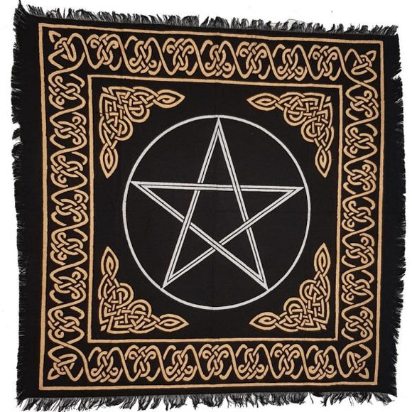 Altar Cloth with Pentacle
