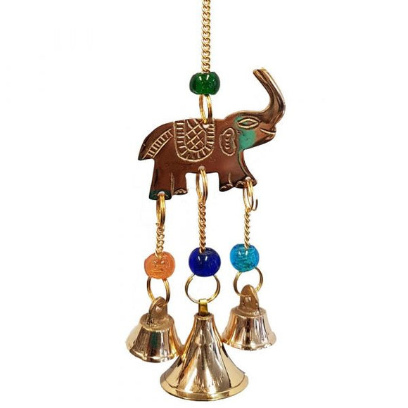 Brass Elephant Bell Chime