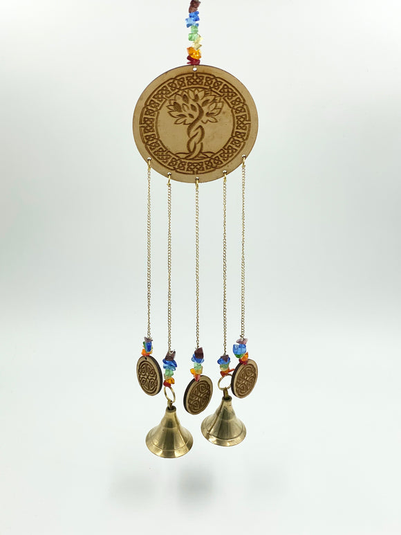 Tree of Life Hanging Bell Charm