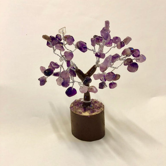 Amethyst Gemstone Tree - Small