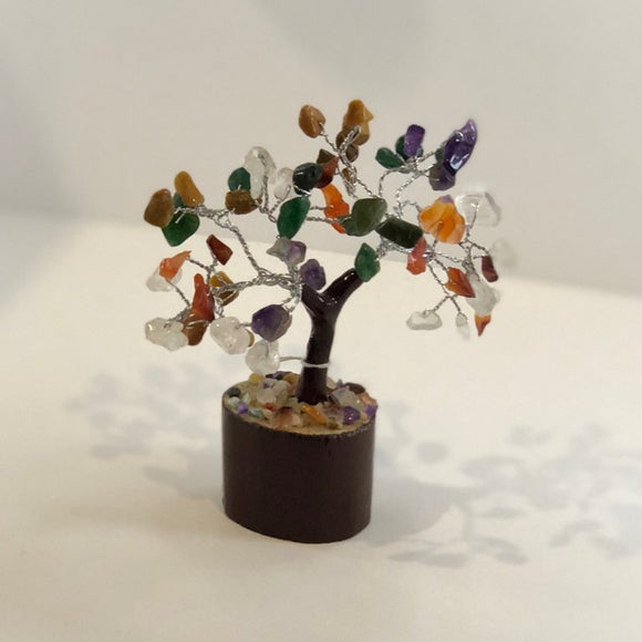 Mixed Gemstone Tree - Small