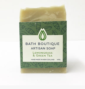 Artisan Soap - Lemongrass & Green Tea