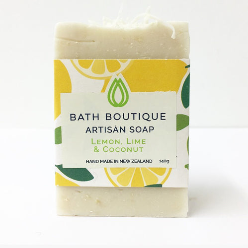 Artisan Soap - Lemon Lime & Coconut