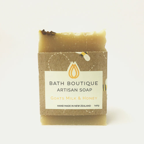 Artisan Soap - Goats Milk and Manuka Honey