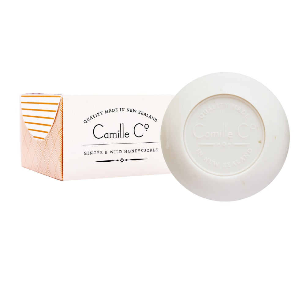Soap Camille Co - Ginger and Wild Honeysuckle