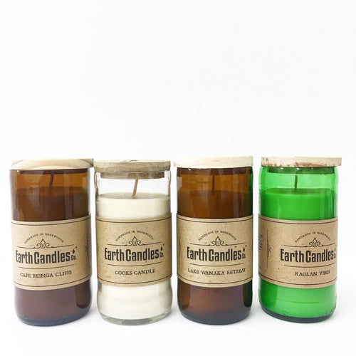 Earth Candles - Soy candle Beer Bottle 200 gr