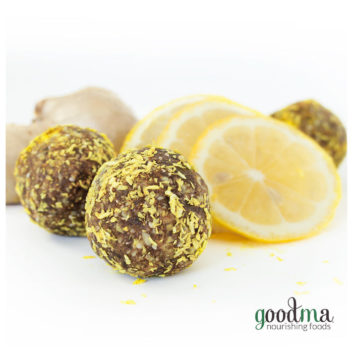 Lemon Twist Energy Balls