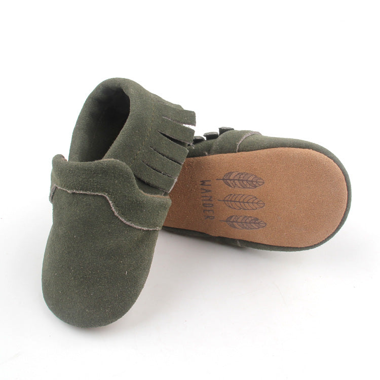 Moccasin - Moss