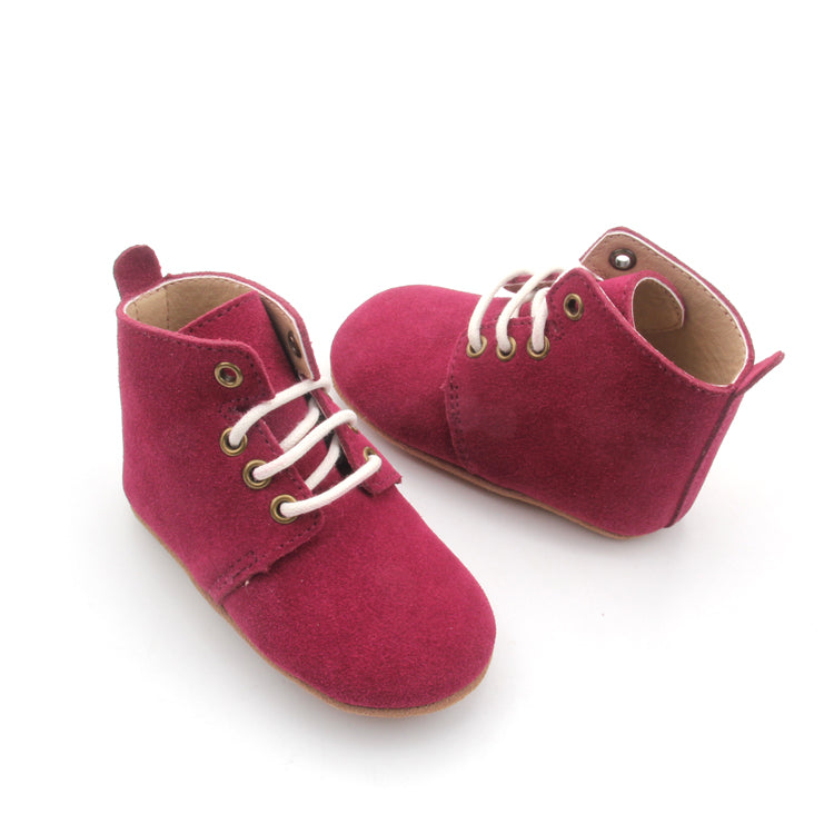 Oxford Boot - Berry