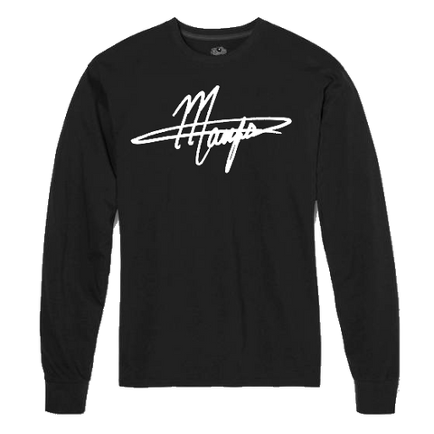 Black Signature Long Sleeve Shirt