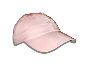 Pink Signature Dad Hat