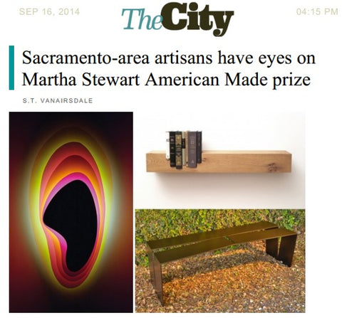 blankblank // Sactown Magazine's Blog The City // Martha Stewart American Made Prize