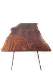 Cast/Slab Dining Table - blankblankinc