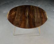 Round Cast/Mill Dining Table - blankblankinc