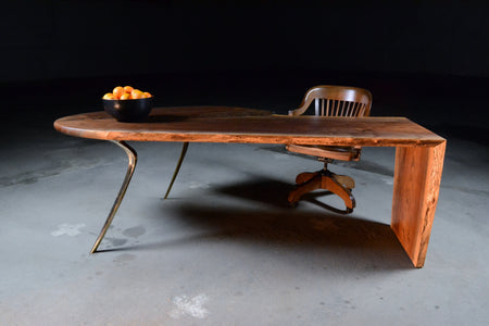 Cast/Slab Desk - blankblankinc
