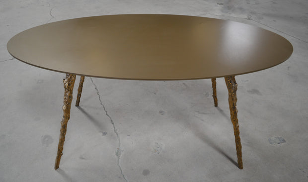 Round Cast/Plate Table - blankblankinc