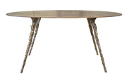 Oval Cast/Plate Table - blankblankinc