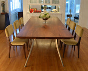 Squared Cast/Mill Dining Table