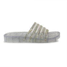 Sparkle elegant Crystal Jelly Sandals