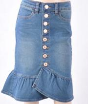 """Addison Claire"" Denim Skirt"