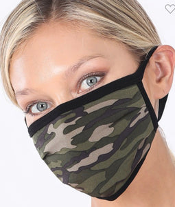 """Everyday Mask"" in Camo"