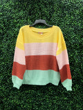 """You Were Mint for Me"" Striped Sweater"
