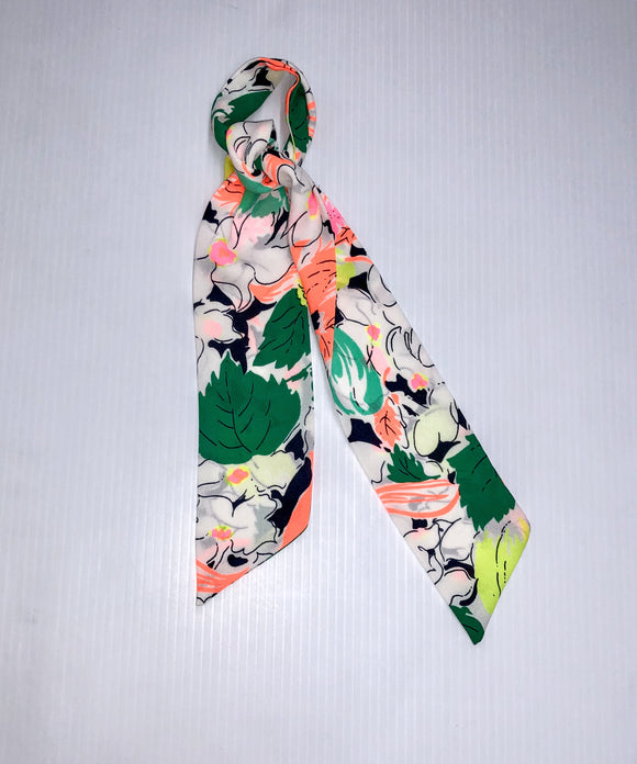 Neon Spring Hair Scarf