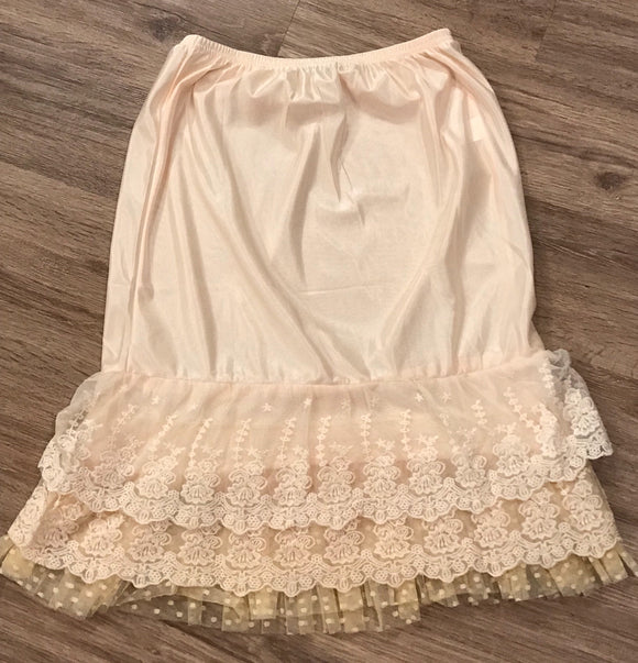 """Ruffles and Lace"" Skirt Extender"