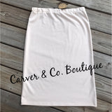 Perfect Pencil Skirt in Cream