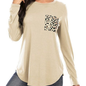 """Spotted From A Far"" Top in Ivory"