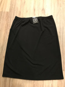 Perfectly Plus Pencil Skirt in Black