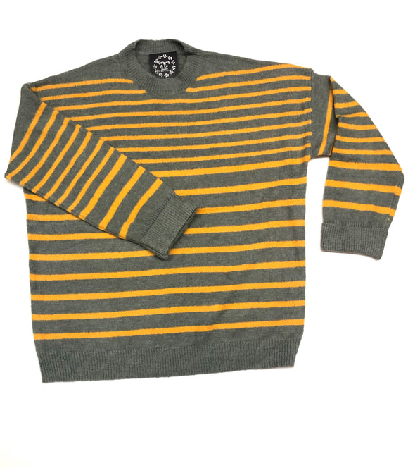 """Go for the Gold"" Striped Sweater"