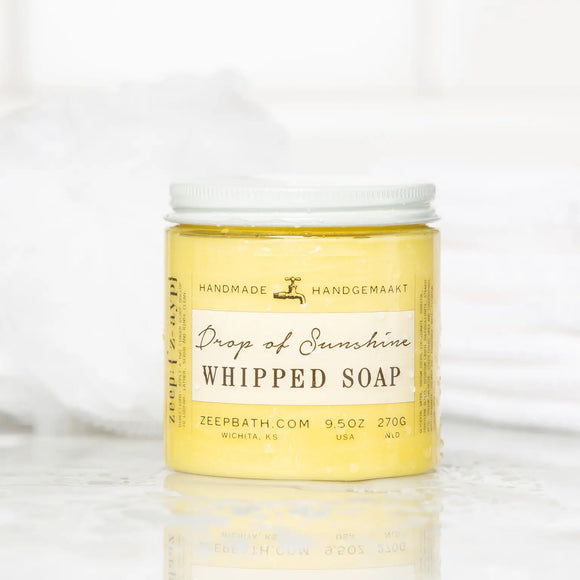 """Drop of Sunshine""  Whipped Soap"