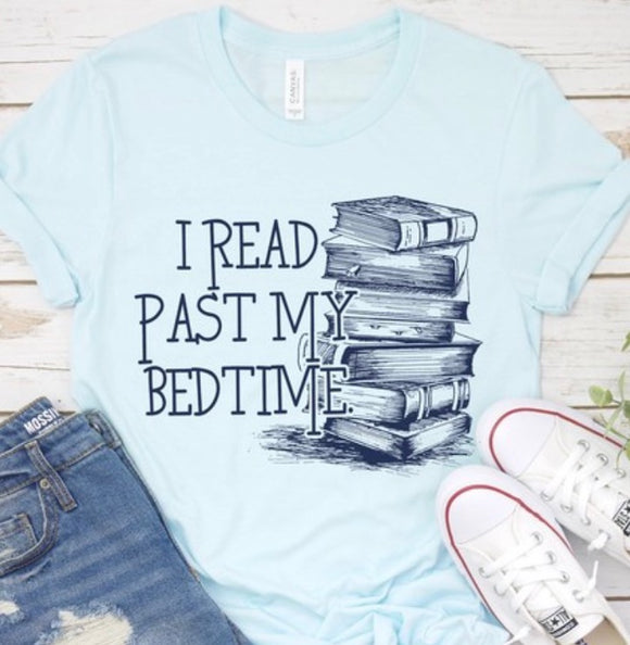 """Love of Reading"" Ladies Tee"