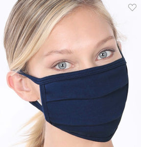 """Everyday Mask"" in Navy"