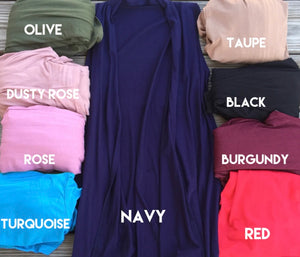 """Give me one of Every Color"" In Navy"