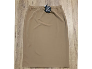 Perfect Pencil Skirt in Dark Khaki