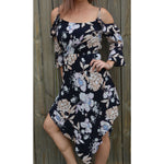Burke st clothing dress 10 Garden party flutter dress