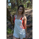 Burke st clothing Playsuit XS Sienna denim overalls
