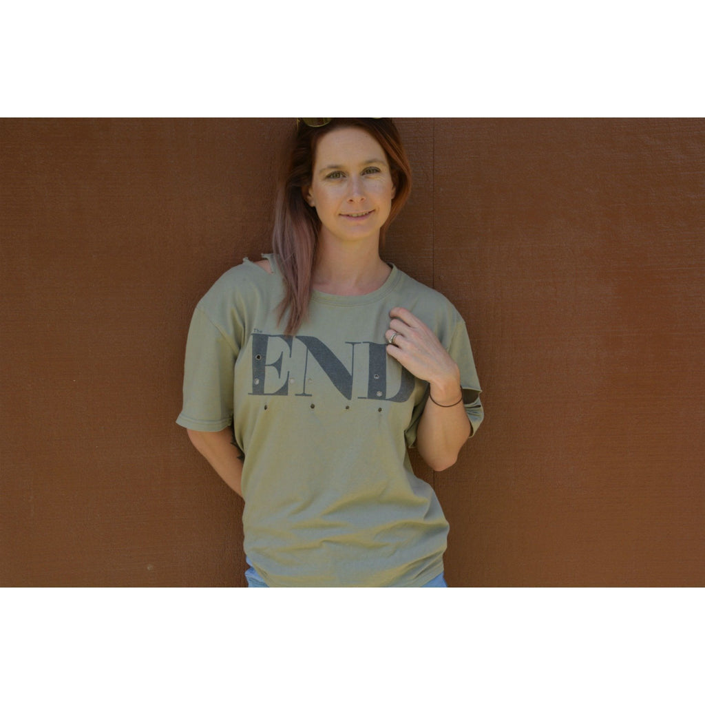 Burke st clothing XS The End Tee