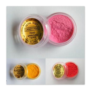 Carolines Petal and Shimmer Dusts - 4gm