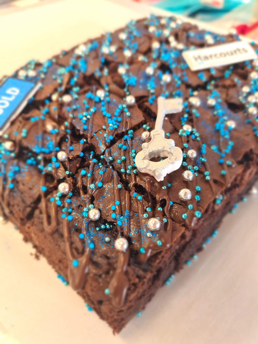 Chocolate Brownie Gift Box with Bling!