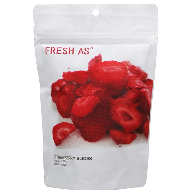 Fresh-As Freeze Dried - Strawberry Slices - 22gm
