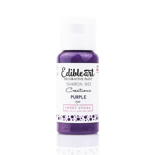 Sweet Sticks Edible Paint - Purple - 15ml