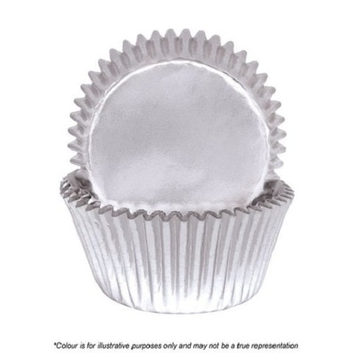 700 Baking Cups - Silver Foil (pack of 72)