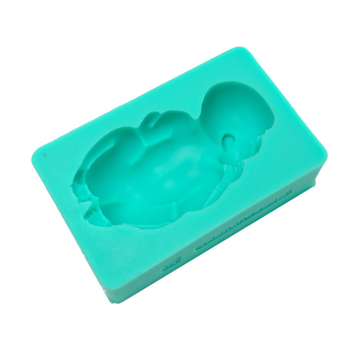 Silicone Mould - Sleeping Baby 3D