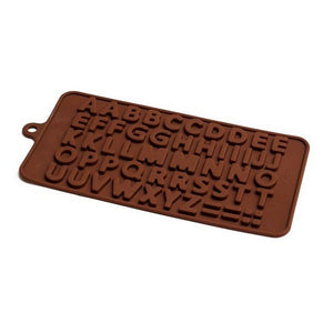 Silicone Chocolate Mould - Alphabet