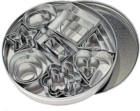 Assorted Nesting Shapes in Tin (24 pieces)