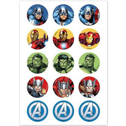 Edible Cupcake Images - Avengers (15)