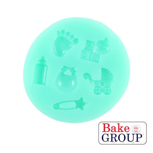Silicone Mould -  Mixed Baby